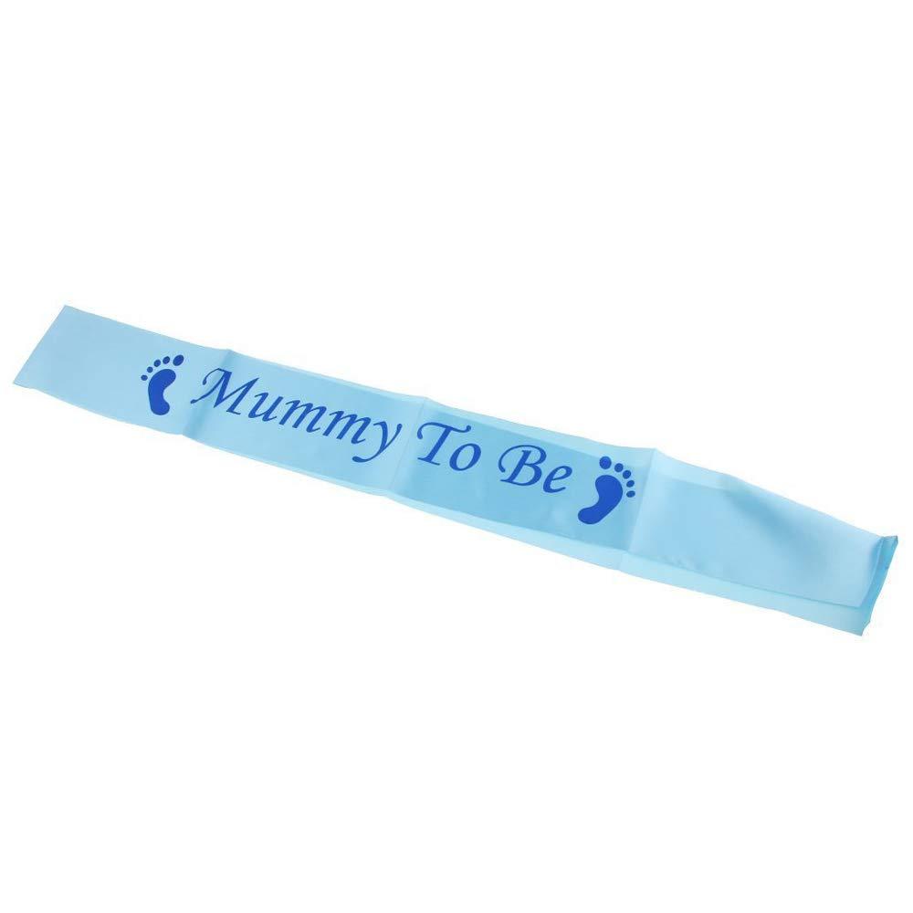 Mommy To Be Sash Celebrando i Regali di Gravidanza Accessori di Feste Decorazioni per Baby Shower LINVINC Fascia di Futura Mamma Rosa