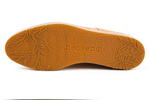 Neosens - Zapatos de cordones de Piel Lisa para mujer beige beige 37