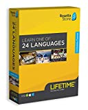 Software : Rosetta Stone: Learn a Language with Lifetime Access - Choose from 24 Languages [Key Card]