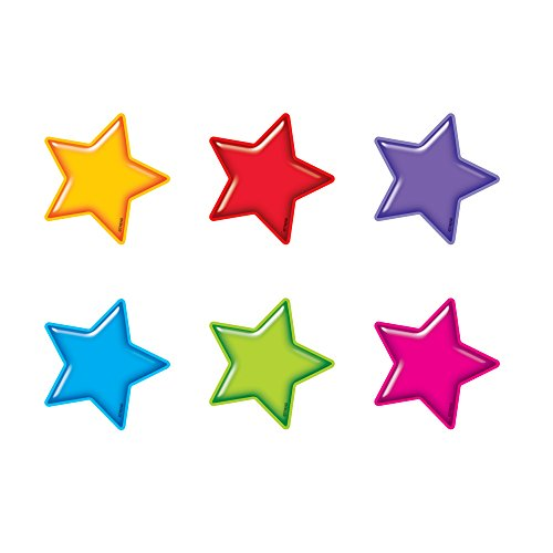 - TREND enterprises, Inc. Gumdrop Stars Mini Accents Variety Pack, 36 ct