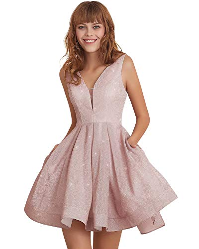 AiniDress Simple Little Homecoming Dress Short Party Prom Dresses Ball Gown