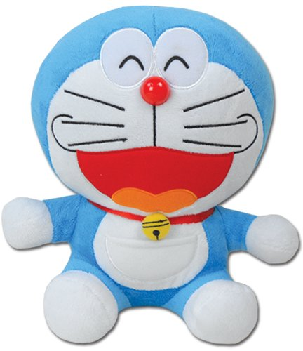"Great Eastern Doraemon - 12"" Smile Face Doraemon Plush, Large"