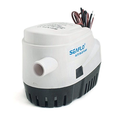 Marine Bilge Pump (Seaflo Automatic Submersible Boat Bilge Water Pump 12v 750gph Auto with Float)