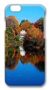 Autumn Lake Custom iphone 6 plus 5.5 inch Case Cover Polycarbonate 3D