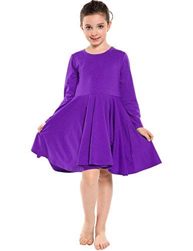 Girls Purple Dress - 2