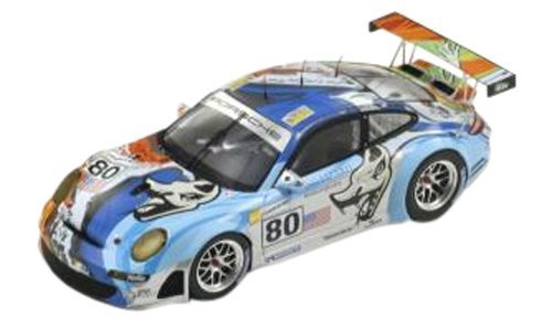 International Trade (KOKUSAI BOEKI) Spark 1/18 Porsche 997 GT3 RSR 2007# 80 finished product