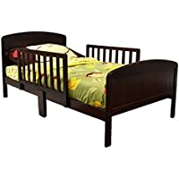 Beautifully Crafted Russell Children Products Harrisburg Wood Toddler Bed, (Expresso)