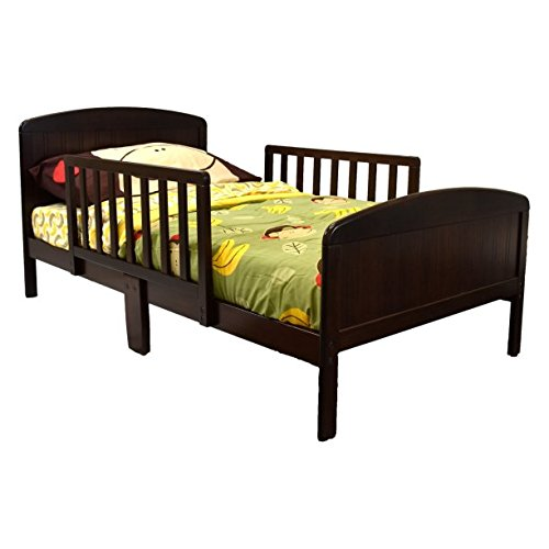 Beautifully Crafted Russell Children Products Harrisburg Wood Toddler Bed, (Cherry) (Cherry Wood Kids Beds)