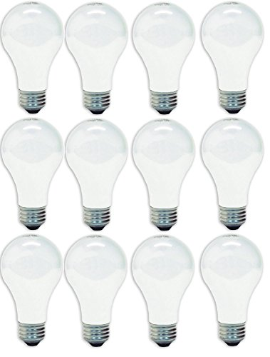 GE Lighting 41028 60-Watt A19, Soft White (White Incandescent Ge Light Bulb)