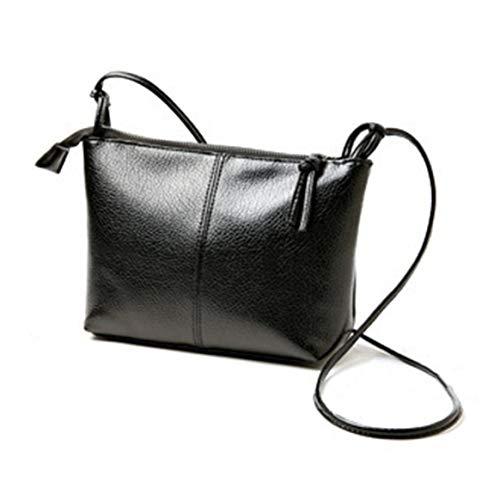 Delicacydex 2017 charmant femmes unique sac à bandoulière sangle réglable simple solide couleur souple en cuir PU dames sac à bandoulière