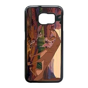 Samsung Galaxy S6 Edge Phone Case Black Home on the Range Lucky Jack EWR9820318