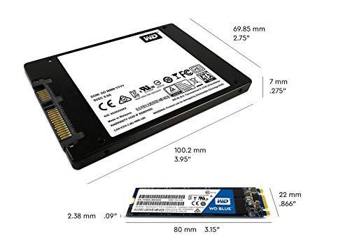 WD Blue 3D NAND 2TB PC SSD - SATA III 6 Gb/s, M.2 2280 - WDS200T2B0B by Western Digital (Image #5)