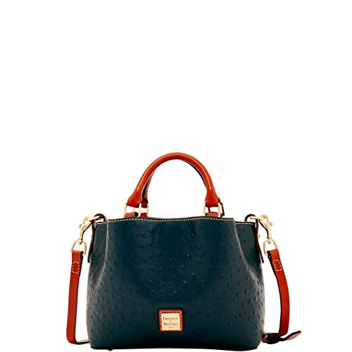 Dooney & Bourke MINI Barlow Ostrich satchel Black ()