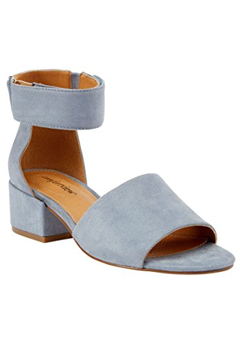 Comfortview Mujeres Wide Blix Bombas Chambray