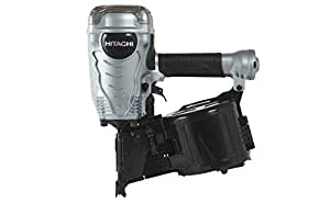Hitachi Powertools NV90AG 3.5-Inch Pneumatic Coil Framing Nailer with Safety Glasses