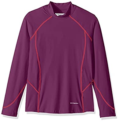 White Sierra Girls Sierra Sun Barrier Long sleeve Tee