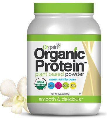 Orgain Organic社 オーガニック(有機栽培) 海外直送品並行輸入品 (920g(2.05LBS), プロテインパウダーバニラビーン味Organic Protein Powder sweet vanilla bean) B016XXII0Q 920g(2.05LBS)|プロテインパウダーバニラビーン味Organic Protein Powder sweet vanilla bean プロテインパウダーバニラビーン味Organic Protein Powder sweet vanilla bean 920g(2.05LBS)
