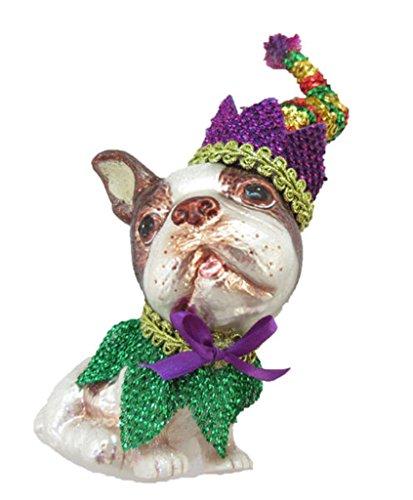 Terrier Glass Ornament - 3
