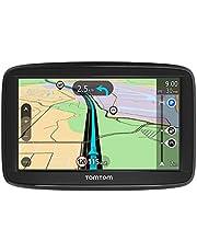 Tomtom Start 52 Autonavigatiesysteem, 5 Inch, Met Levenslange Eu-Kaarten, Resistief Display, Zwart