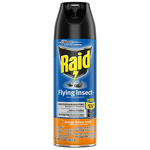 - Raid Flying Insect Killer, Orange Breeze, 15 OZ (Pack - 1)