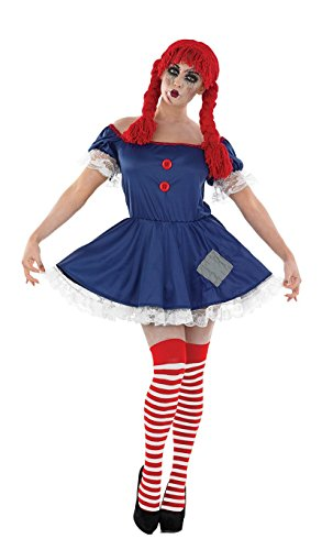 Adult (Rag Doll Halloween Costume Uk)