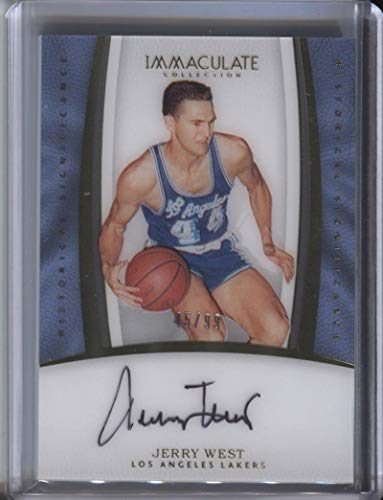 Jerry West 2016-17 Panini Immaculate Collection Historical Significance Autographs #19 45/99 from Immaculate Collection