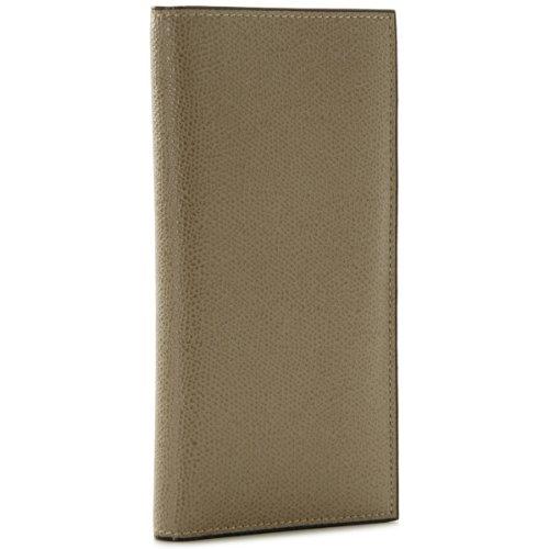 Valextra(ヴァレクストラ) 財布 メンズ グレインレザー 2つ折り長財布 グレーベージュ V8L21-028-00TO[並行輸入品] B00ISG3Q4K