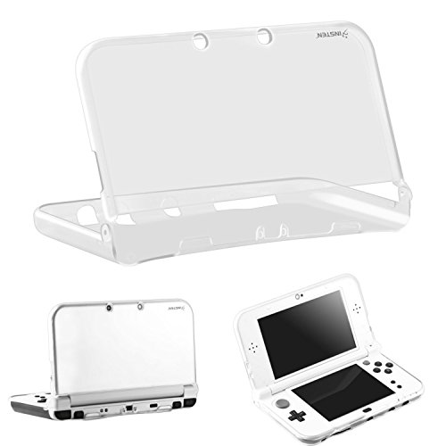 New 3DS XL/LL Case, Insten Ultra Clear Crystal Transparent [Soft TPU] Slim Fit Protective Case Cover Skin for New 2015 Nintendo 3DS - Glasses 2015 New