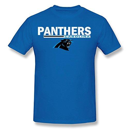 AnneLano Men's Panthers Legend Football Performance T-shirt Medium RoyalBlue