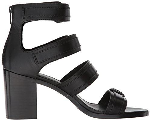 Women's Black Sandal Frye Heeled Buckle Danica Western dBBY7