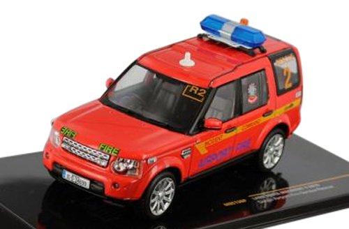 1/43 ランドローバー ディスカバリー 4 2010 ダブリン空港 消防レスキュー  MOC136P