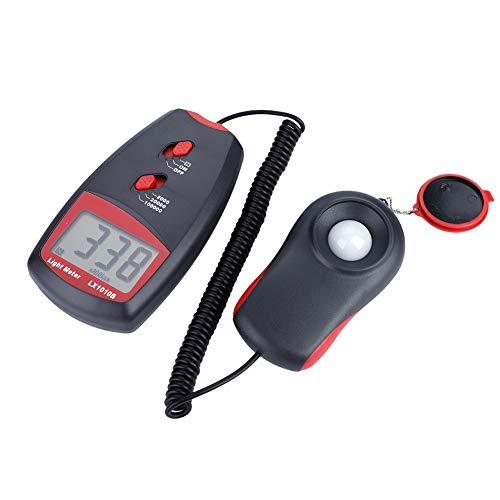 LX1010B Digital Luxmeter LCD Display Light Meter Environmental Testing Illuminometer by Wal front (Image #3)
