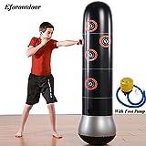 Eforoutdoor Inflatable Kids Punching Bag, Free