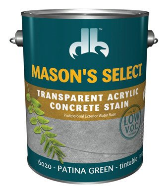 Mason'S Select Transparent Concrete Stain Green 1 - Mason Stain Green