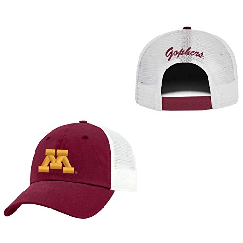 Minnesota Golden Gophers Adult NCAA Team Spirit Relaxed Fit Meshback Hat - Team Color (Minnesota Golden Gophers Womens Basketball)