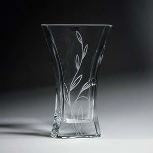Jarrón de cristal–Piedra de óxido serie, flor 11cm de altura