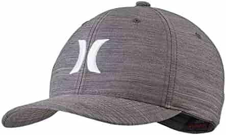 ea66c39fab8a8 Hurley Dri-Fit Cutback (Dark Grey White) Hat
