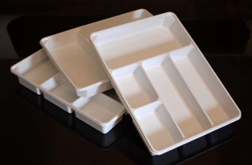 3 Pack Of Organizer Trays For Desk Utensils Tools