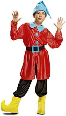 My Other Me Me - Disfraz de Enanito, talla 3-4 años, color rojo ...