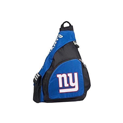 NFL New York Giants Leadoff Sling Backpack, 20-Inch, Black/Navy 20' Nfl Football Fan