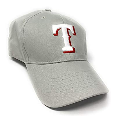 Fan Favorite MLB Basic Adjustable Hat, Texas Rangers Khaki/Tan