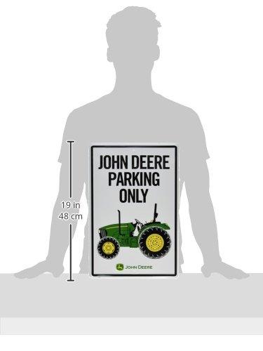 John Deere Metal Sign Tractor Park Only Home Decor