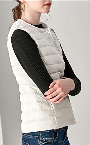 Women's Jackets Vest Ultra Light Parka Packable White Warm Down TTYLLMAO vwBdZv
