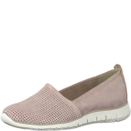 2 Ladies Metallic 952 24709 Slipper Marco Tozzi Rose 20 Rosa 5tqWA