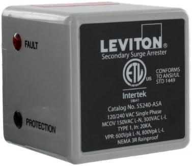 Leviton 55240-ASA, Gray