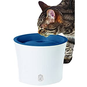 Catit Design Senses Fountain with Water Softening Cartridge