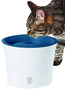 Catit Design Senses Fountain with Water Softening Filter for Cats and Dogs