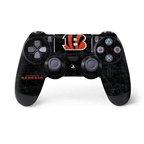 NFL Cincinnati Bengals Distressed Skin for Sony PlayStation 4/ PS4 Dual Shock4 -