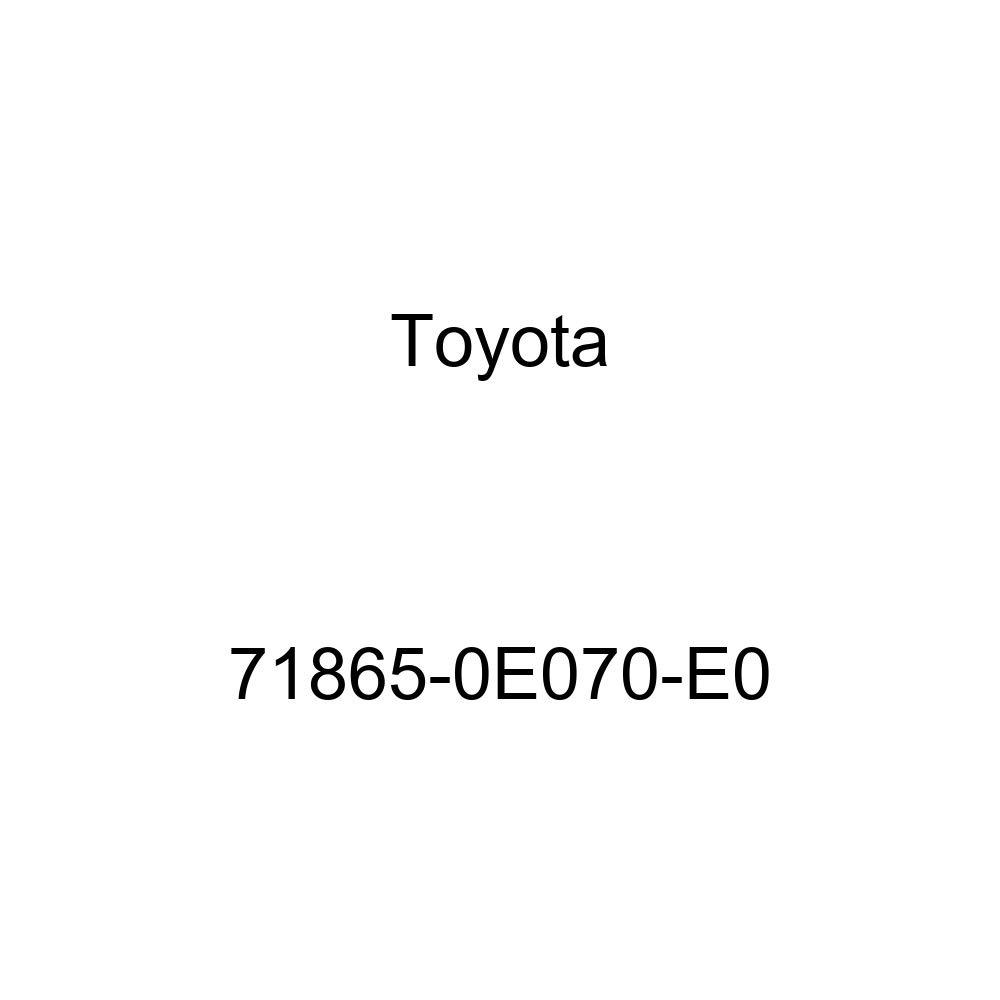 TOYOTA 71865-0E070-E0 Seat Cover Bezel