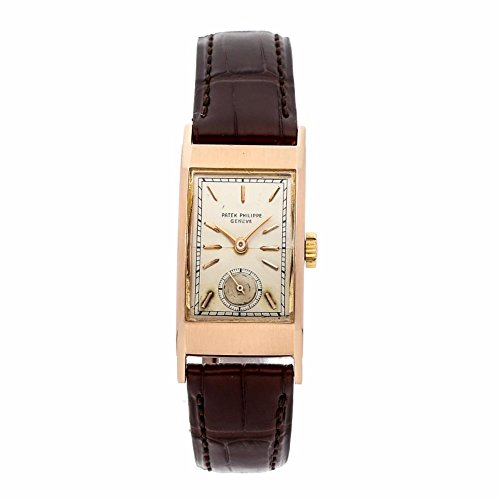 Patek Philippe Vintage Collection Mechanical-Hand-Wind Male Watch 425 (Certified Pre-Owned)